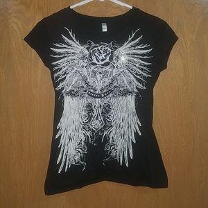 Forever Love rose & wings shirt
